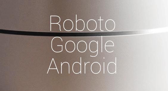 科技感的 Roboto 英文字体