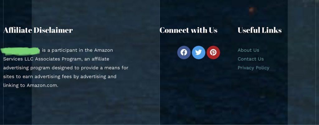 亚马逊联盟营销声明
