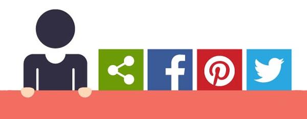 社交分享按钮