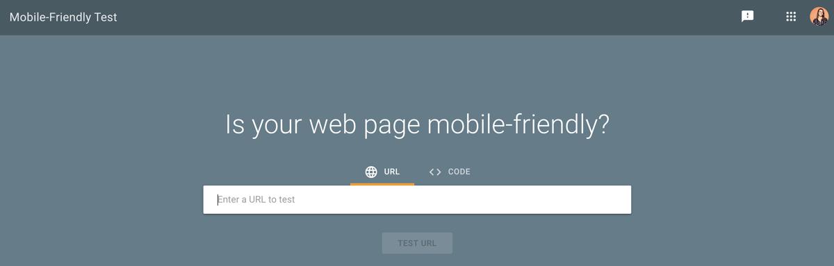 谷歌网站移动端测试工具