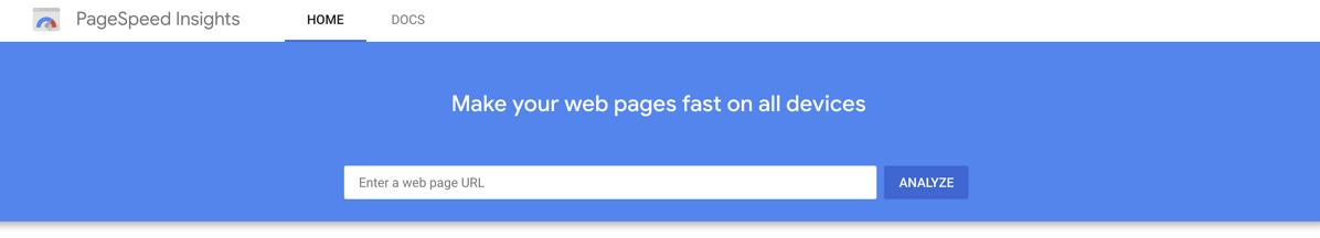 谷歌网页速度测试工具